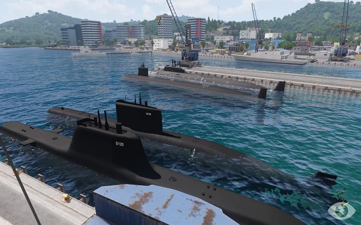 4 verschiedene U-Boote