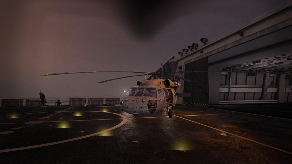 (Fast) Perfekte Landung ...