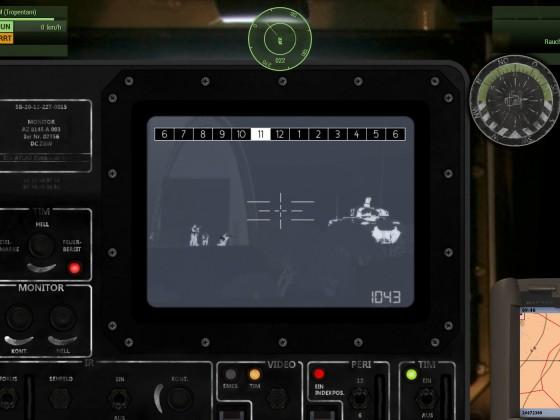 Puma + Eigene Kräfte am Flugfeld