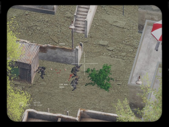 Manhunt von oben