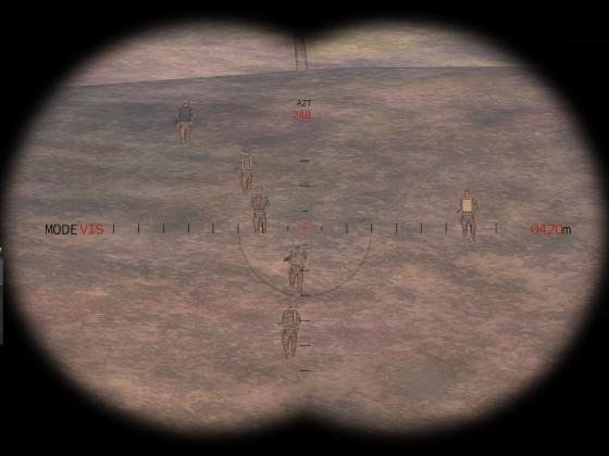Annäherung der Gruppe Hornet II