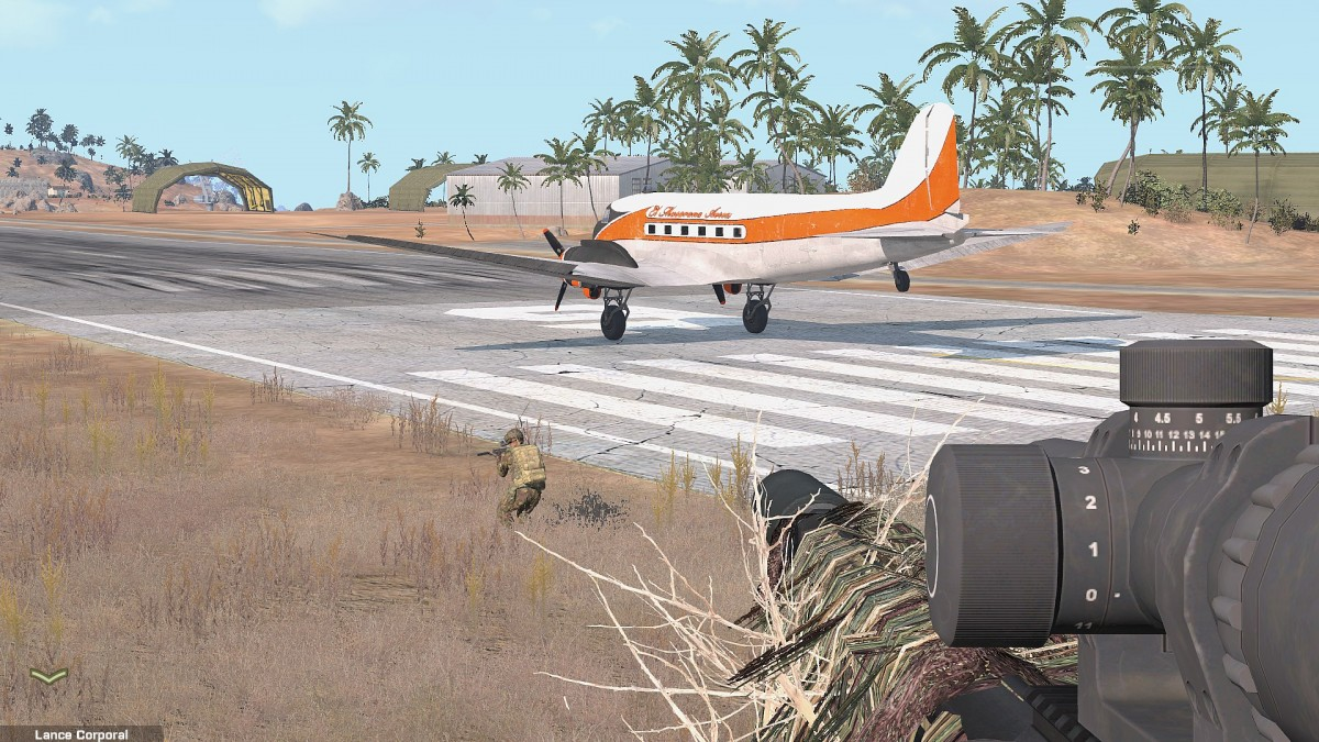 Die eigentliche C130 die die ZP ausfliegen sollte