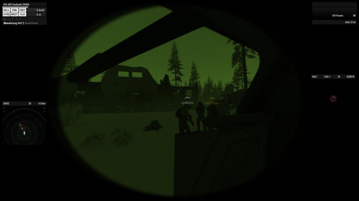 Arma 3 Zombie Event - Outbreak -> betanken des Hubschraubers im Feld