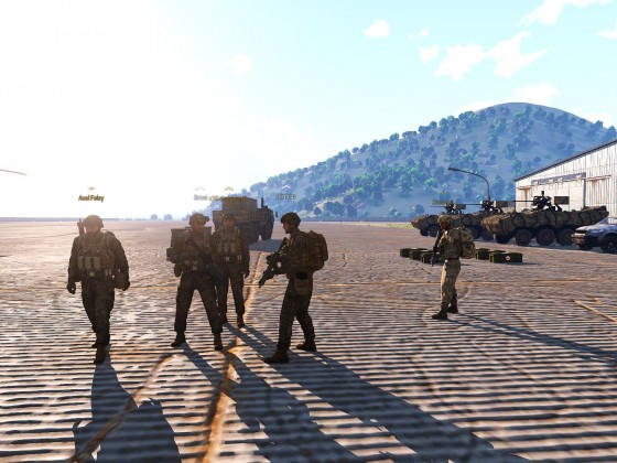 Arma 3 Event - Deserted Fear