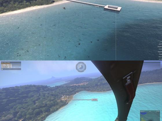 Vergleich SeaShader neu und alt
