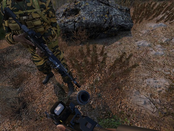 Spontane Panzermission