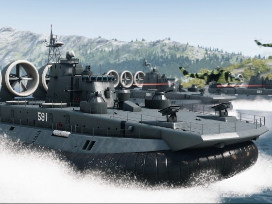 Arma 3 Cup Zubr-class LCACs